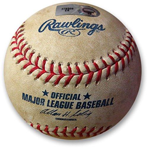 Los Angeles Dodgers vs. Pittsburgh Pirates Game Used Baseball 08/17/14 MLB Holo