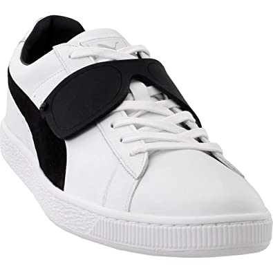af98fd079d PUMA Select Men's x Karl Lagerfeld Suede Classic Sneakers, White/Black, ...