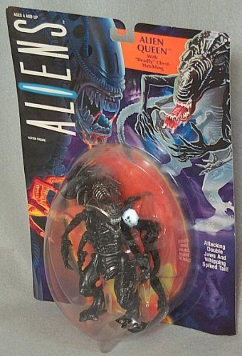 Aliens Figure By Action Queen With Hatchling Deadly Chest Alien Kc1JlF