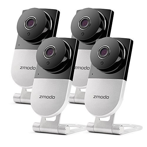 Zmodo 720p HD Wireless Smart Home Surveillance Camera System - 4 Camera, 4CH NVR with 500GB Hard Drive by Zmodo