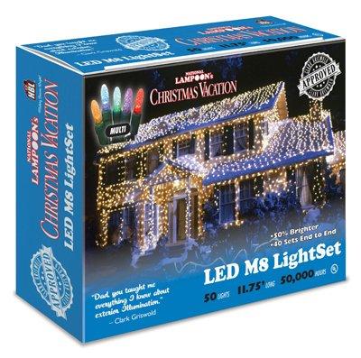 Holiday Bright Lights 50LT Mult LED LGT Set, Large, Multicolor