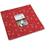Sweetwater Project Red Layer Cake 42 10-inch Squares Moda Fabrics 5680LC