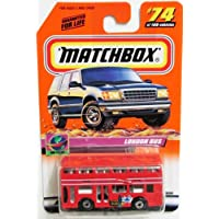 2000 Matchbox - # 74 London Bus Red C8 Collectibles Car Collector
