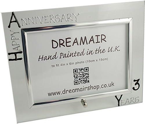 3rd Year Dreamair Others Photo Frame L Three Year Black//Silver