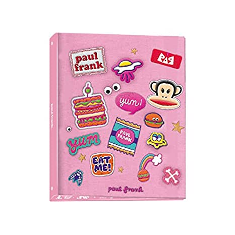 Carpeta Archivador PAUL FRANK Rosa, Folio 4 Anillas 35 mm.: Amazon.es: Oficina y papelería