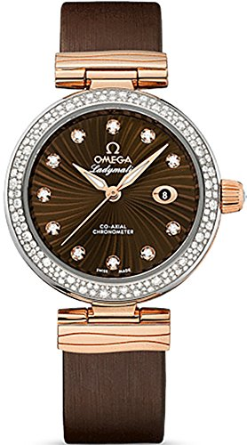 Omega DeVille Ladymatic Diamond Women's Watch 425.27.34.20.63.001