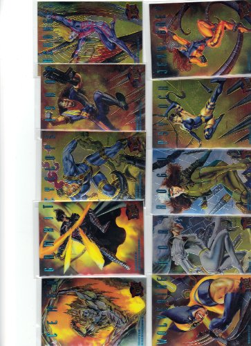 Used, 1995 Fleer Ultra X-men Trading Card Set + 3 Chase Sets. for sale  Delivered anywhere in USA