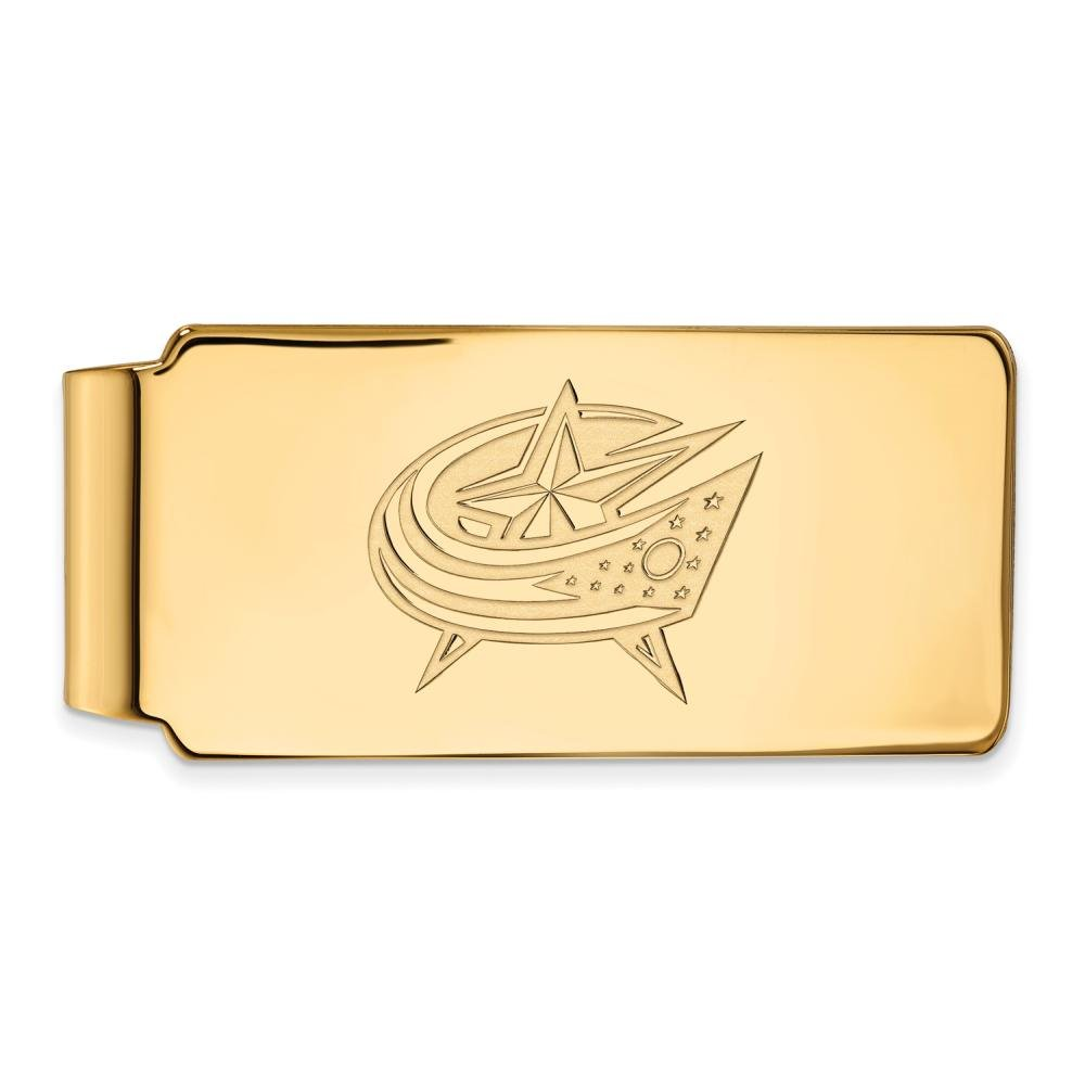10ky Columbus Blue Jackets Money Clip by LogoArt