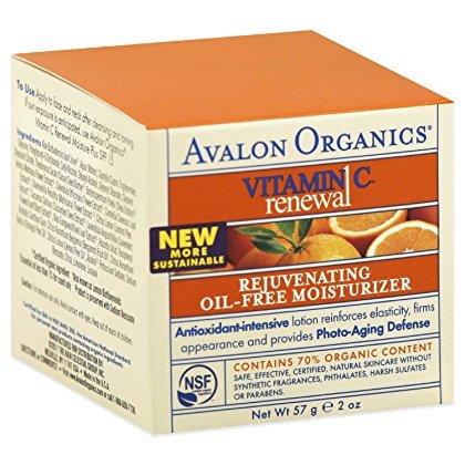 Avalon Organics: Vitamin C Rejuvenating Oil-Free Moisturizer, 2 oz