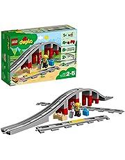 LEGO DUPLO 10872 Spoorbrug en rails Bouwspeelgoed