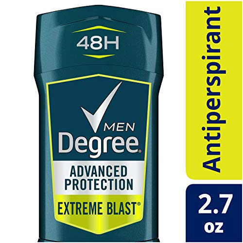 Degree Mens Deo Advanced Protection Anti-perspirant Deodorant Invisible Solid, Extreme Blast, 2.7 Ounce - Invisible Solid Extreme Blast