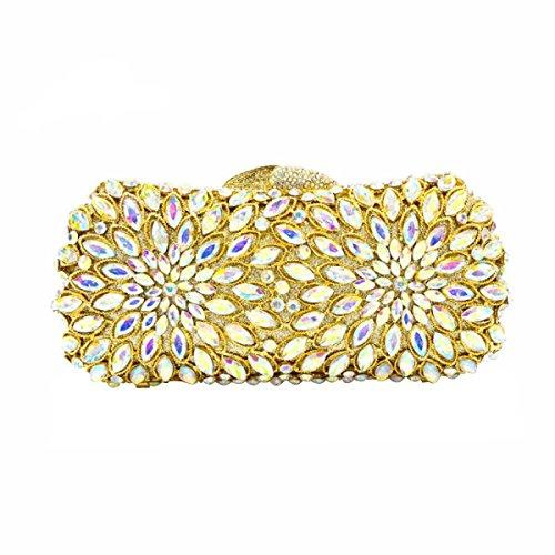 Bandolera Hueco Diamantes De La Moda Bolso De Noche De Lujo Del Diamante De Las Mujeres A