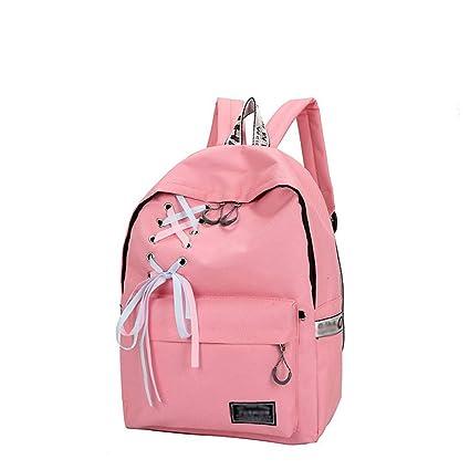 HONGYU-Mochilas para portátil Bolsa de Viaje Mochila Escolar para Chicas Daypack Laptop (Color