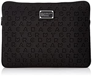 "Marc by Marc Jacobs Dreamy Logo Neoprene 15"" Computer Case Laptop Case Black One Size"