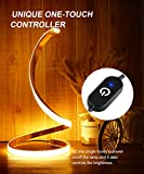 Spiral LED Table Lamp, Modern 3 Colors Dimmable