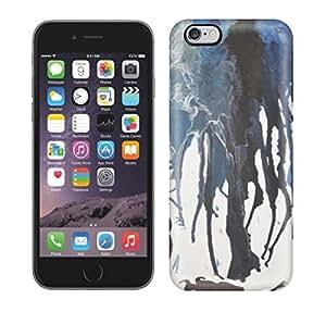 Best Power(Tm) HD Colorful Painted Watercolor Mermaid In A Melting Ocean Hard Phone Case For Iphone 6 Plus