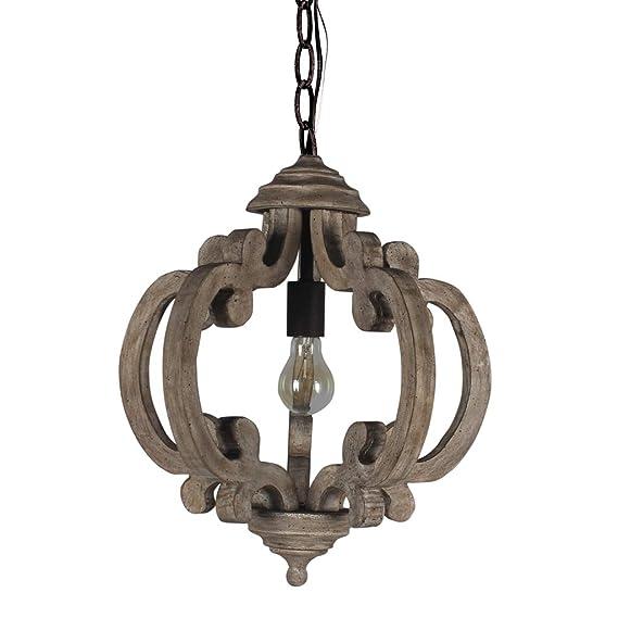 Amazon.com: LB Lighting - Lámpara de araña retro de metal y ...