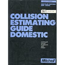 MITCHELL COLLISION ESTIMATING GUIDE CHRYSLER/JEEP/EAGLE MANUAL (VOLUME #- 36-1)