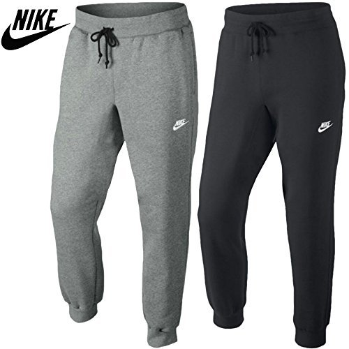 Oops Outlet Mens Nike Vellón Base DE Maquillaje 2 Pantalones Sudadera para Correr Elástico Contraste Cordón en Cintura Cuerda Gimnasio Pantalón Chándal ...