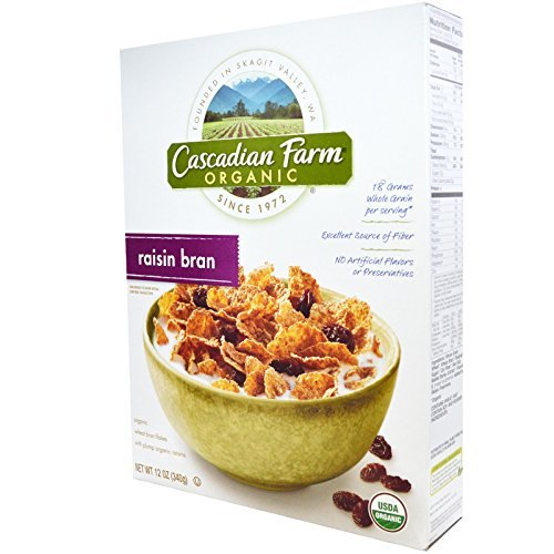Organic Raisin Bran (Cascadian Farm, Organic Raisin Bran Cereal, 12 oz by Cascadian Farm)