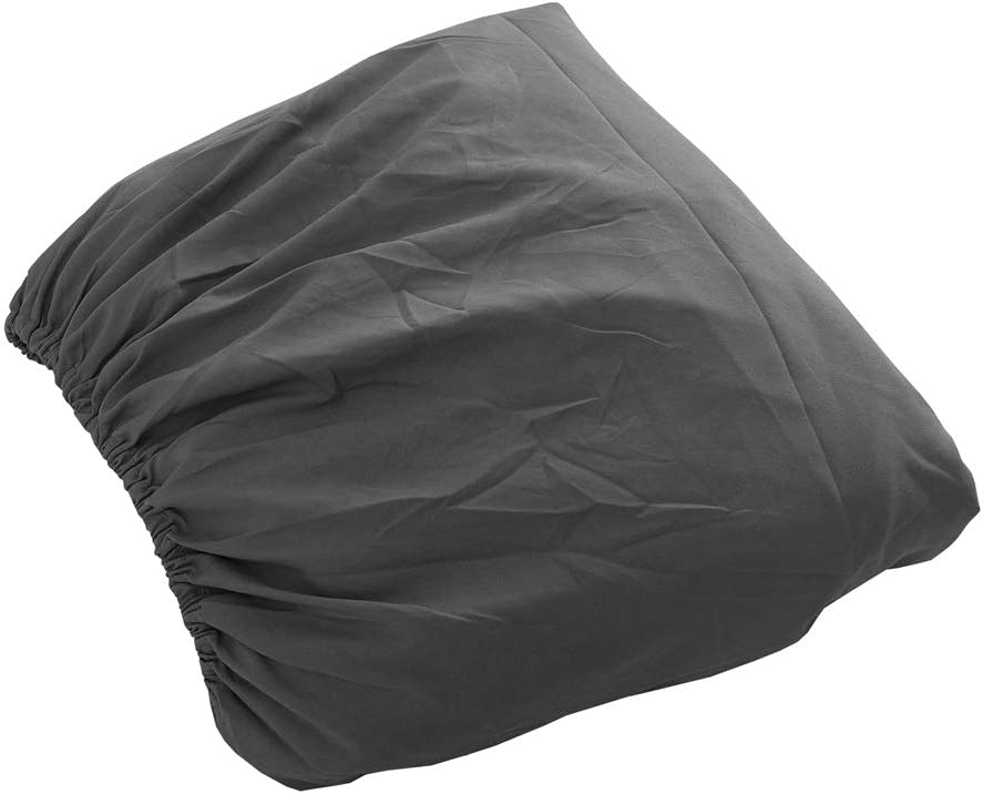 Sfoothome Single Fitted Sheet Fade - Deep Pocket Brushed Velvety Microfiber Stain and Abrasion Resistant King - Black Extra Soft and Comfortable Wrinkle Breathable