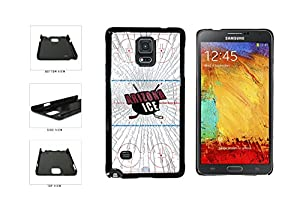 Arizona Ice Plastic Phone Case Back Cover Samsung Galaxy Note IV 4 N910 comes with Security Tag and MyPhone Designs(TM) Cleaning Cloth