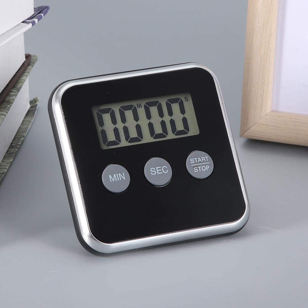 Digital Mini Timer Loud Alarm Clock Self Standing Magnetic Kitchen Cooking Timer Countdown for Home Kitchen Use