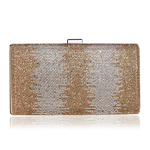Bag Diamond Encrusted Bag Fashion New Banquet Gold held Evening Evening Bag Ladies Hand GROSSARTIG xRp75Ew5