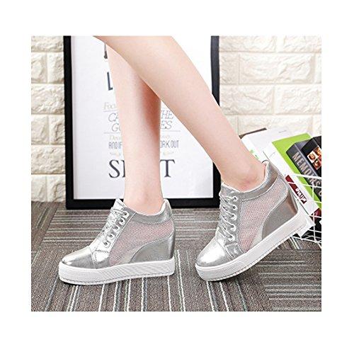 Talon Baskets CM Mode 7 Compensé Dentelle Femme Sneaker Chaussure xXRHOBq