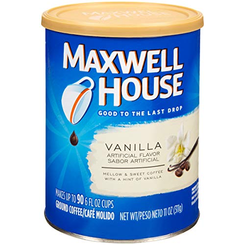 (Maxwell House Vanilla Ground Coffee (11 oz Tin, Pack of 3))