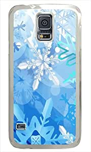 Best Top Samsung Galaxy S5 Cases and Covers Blue Ice Custom PC Case Cover for Samsung Galaxy S5 - Transparent