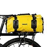 Alston Gym Bag Bike Trunk Bag(for Cargo Rack Waterproof Bike Pannier Biycle Postman Saddle Bag Shoulder Bag Laptop Pannier Rack Bicycle Bag Professional Cycling Accessories)