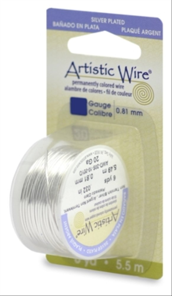 Amazon.com: Beadalon (1-Pack) Artistic Wire 30 Gauge (.26mm ...