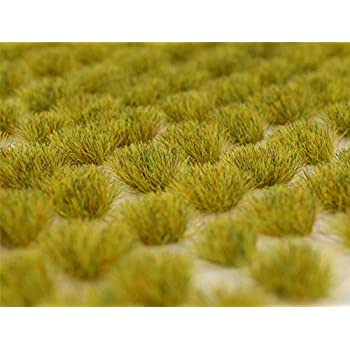 White//Burgundy 6mm Bachmann 31035 Scenery SceneScapes Grass Tufts