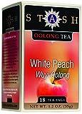 Stash Tea Wuyi Oolong Teas White Peach 18 tea bags (Pack of 4)