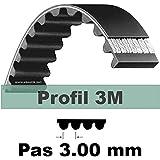 Courroie Crantée 252 3M 18 mm / Marque : Looxe > Exigez la Qualité