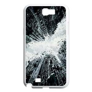 Samsung Galaxy N2 7100 Cell Phone Case White The Dark Knight Rises 2012 OJ574156