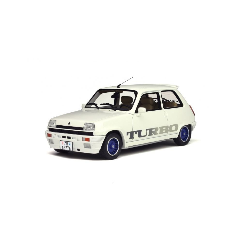 Otto 1/18 Scale Resin - OT691 - Renault 5 Gordini Turbo - White: Ottomobile: Amazon.es: Juguetes y juegos