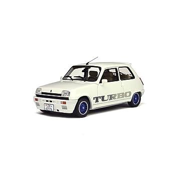 Otto 1/18 Scale Resin - OT691 - Renault 5 Gordini Turbo - White