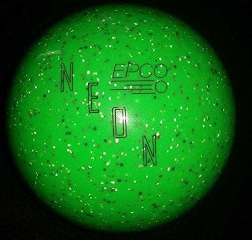 EPCO-Neon-Duckpin-Bowling-Ball-Neon-Green-Single-Ball