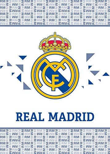 Real Madrid Fleecedecke Couverture en Laine Polaire -coperta in Pile Manta de Lana 110x140cm RM191065 Fleece Blanket