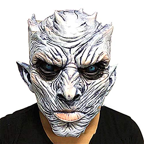 Ebeauty Halloween Night King Ghost Mask Creepy Mask Horrible Halloween Mask Halloween Party Mask Costume Cosplay Supplies -