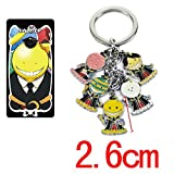 Best GENERIC Friend Key Rings - Assassination Classroom cute figure Alloy Keychain Review
