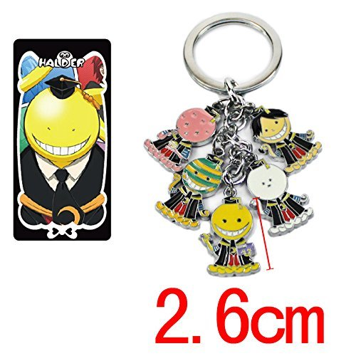 Assassination Classroom cute figure Alloy Keychain