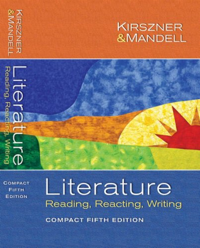 Literature: Reading Reacting Writing (Compact Fifth Edition)
