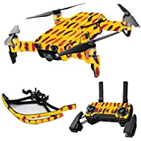 MightySkins Skin for DJI Mavic Air Drone - Feathers | Max Combo Protective, Durable, and Unique Vinyl Decal wrap cover | Easy To Apply, Remove, and Change Styles | Made in the USA