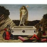 Canvas Prints Of Oil Painting ' Francesco Botticini - The Resurrection, C. 1465-70 ' , 18 x 22 inch / 46 x 56 cm , High Quality Polyster Canvas Is For Gifts And Bar, Bath Room And Bed Room Decoration