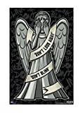Doctor Who Weeping Angel Poster
