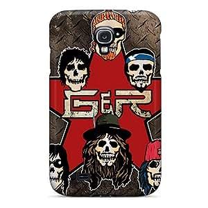 Best Hard Phone Case For Samsung Galaxy S4 With Custom Vivid Guns N Roses Band Skin LauraAdamicska