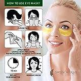 Under Eye Patches For Puffy Eyes 24k Gold Eye Mask